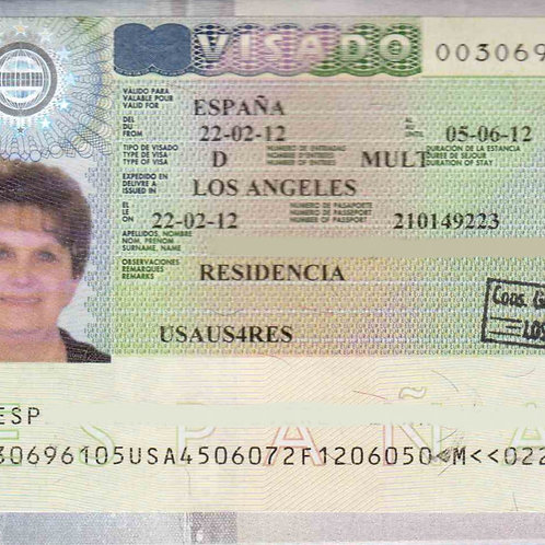 Spanish VISA