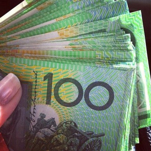 $100 Australian Dollar Bill