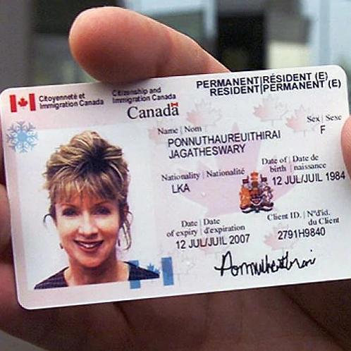 Canada ID card