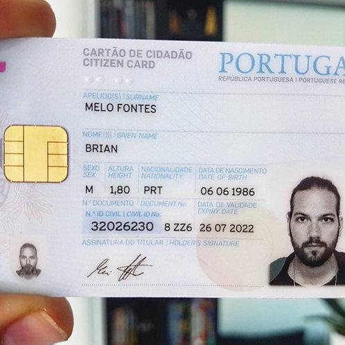 Portugal ID card