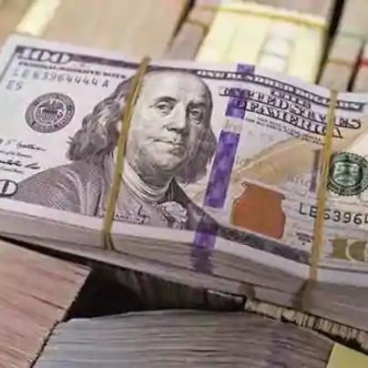 $ 100  US DOLLAR