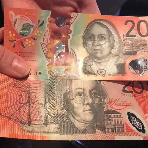 $20 Australian Dollar Bill