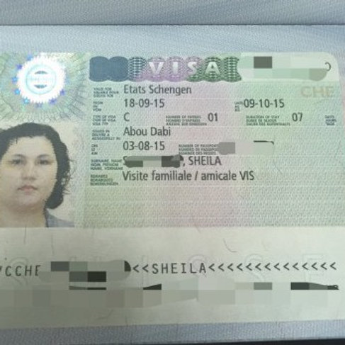 Swiss VISA