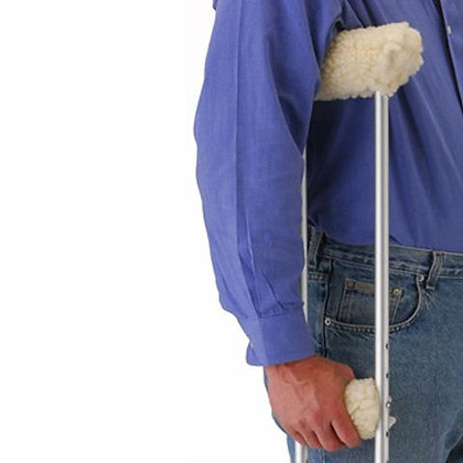 Fleece Crutch Cover set