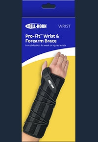 Pro-Fit Wrist and Forearm Brace