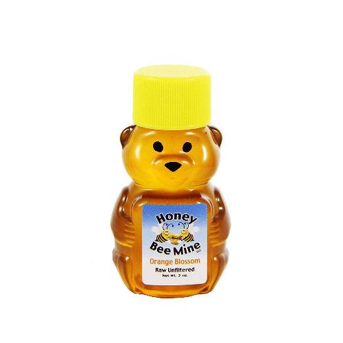 Orange Blossom Honey 2oz. Bear