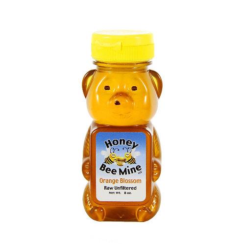 Orange Blossom Honey 8oz. Bear