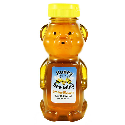 Orange Blossom Honey 12oz. Bear