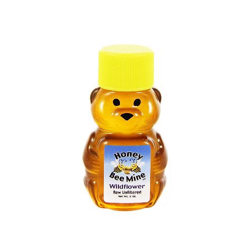 Wildflower Honey 2oz. Bear