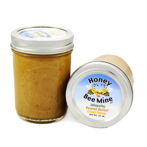 Jalapeño Peanut Butter Spreadable Honey