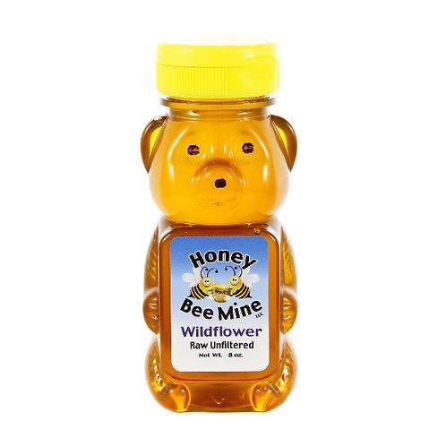 Wildflower Honey 8oz. Bear