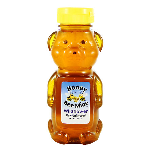 Wildflower Honey 12oz. Bear