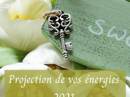 Quelles sont vos energies pour 2021 ?