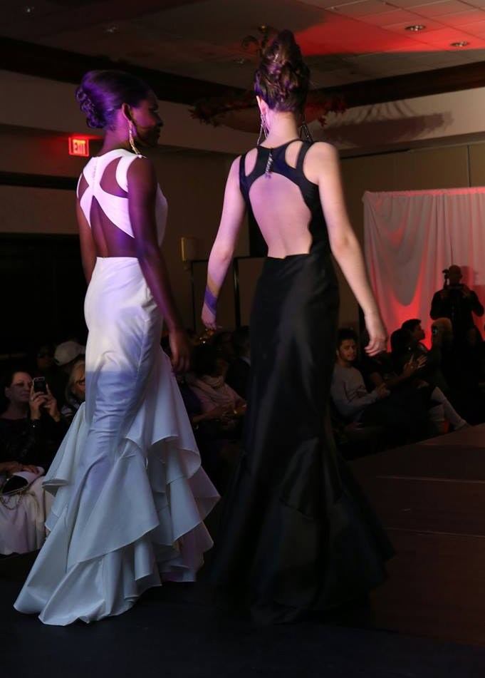 Backs of Gowns