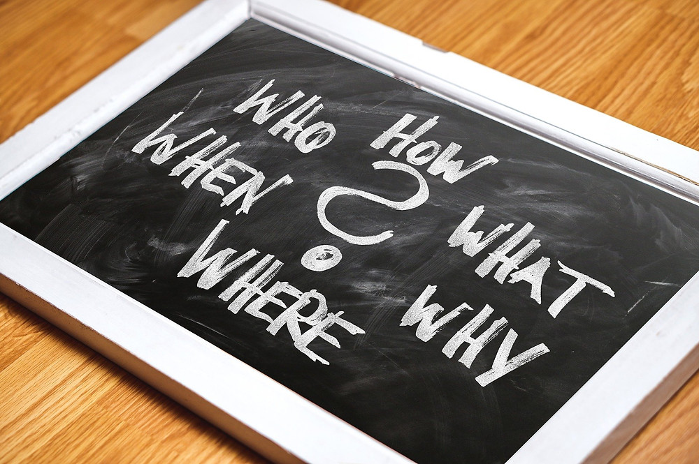 Questioning beliefs with the 5 W's plus How