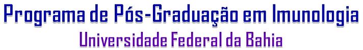 programa de pós-graduação em imunologia ufba