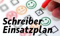 Schreiber-Einsatzplan Saison 2020/21 verfügbar