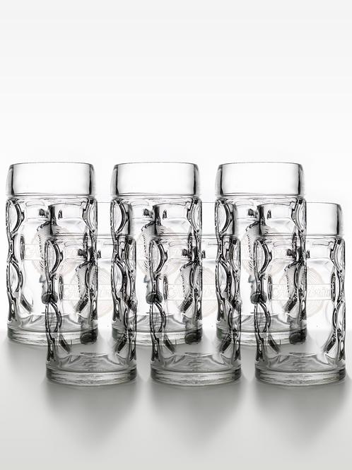 """Glas SEIDEL """"Humpen"""" 50 cl 6er-Pack"""