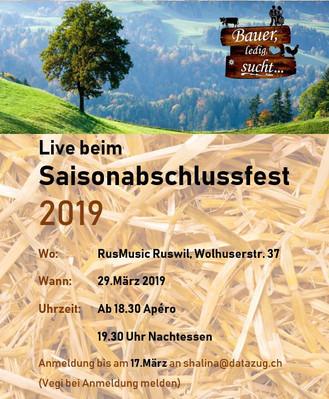 Saisonabschlussfest 2019