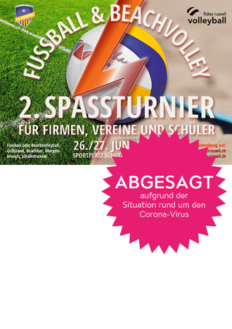 ABGESAGT 2. Spassturnier