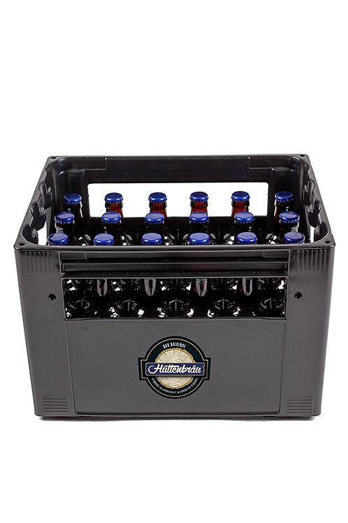 Harasse MIX aus 24 Flaschen saisonal erhältlichem Hüttenbräu-Bier