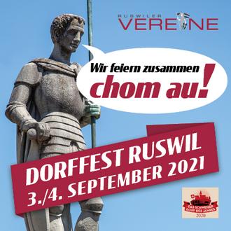 Dorffest Ruswil vom 3./4. September 2021