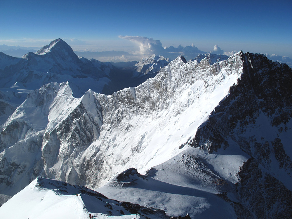 Makalu from Everest South Ridge