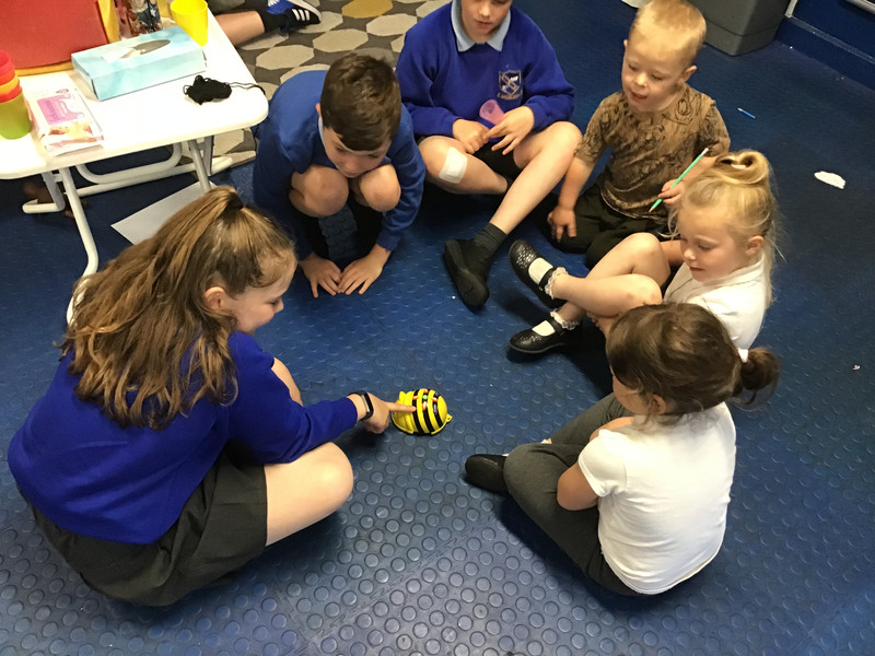 A visit from year 5
