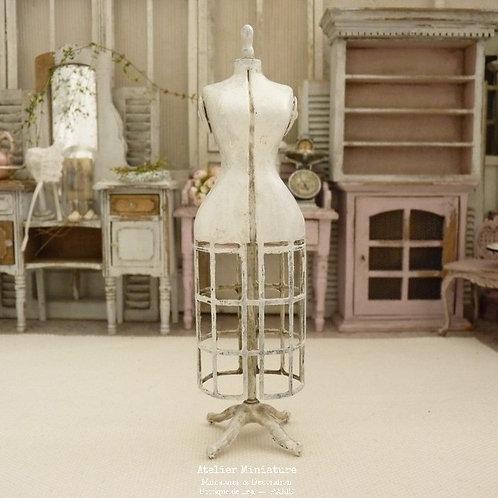 Mannequin de Couture Miniature, Maison de Poupée, Échelle 1/12