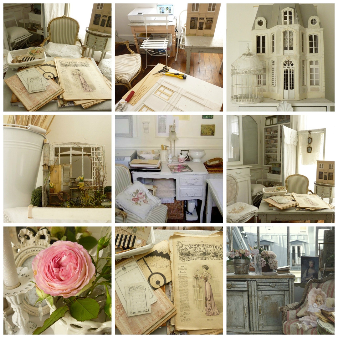 mbiance Shabby Chic, Brocante Romantique