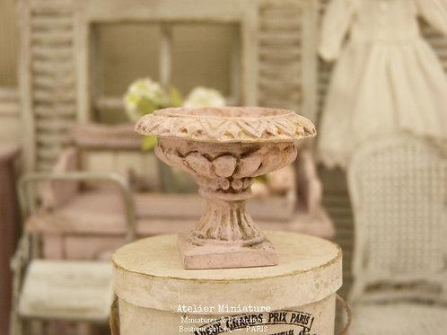 Coupe Médicis, Miniature en Résine, Shabby Rose, Maison de Poupée, Éch