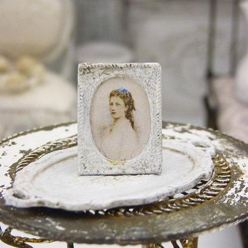 Porte-photo miniature en métal
