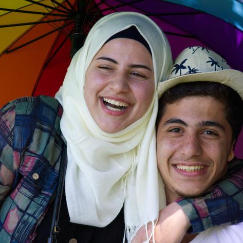 Vielfalt ist dort, wo man zusammen lachen kann.