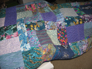 My Deranged Florida Quilt - another UFO bites the dust!