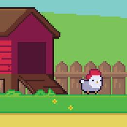 Uma galinha muito determinada e Ludum Dare 41!