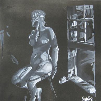 "Interpretation of ""Lovers"" by Andrew Wyeth"