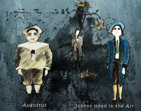 Augustus and Johny Head in the Air