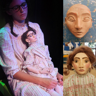 Puppet Face and Clothing