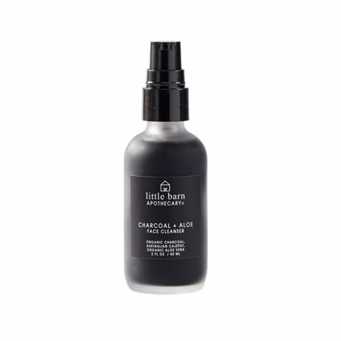 Little Barn Charcoal & Aloe Face Cleanser
