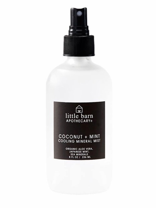 Little Barn Coconut & Mint Cooling Mineral Mist