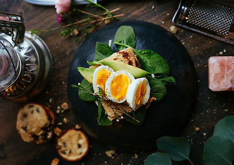 Egg and Spinach