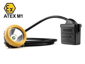 Kömür madenlerine uygun ATEX (M1) sertifikalı madenci baş lambaları