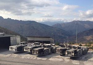 GHH ve diğer marka yer altı yükleyici, kamyonlar ve yedek parçaları; Minemaster ve diğer marka jumbo ve yedek parçaları. 2. el ve revizyon makineler