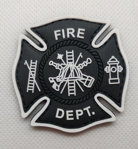 "2"" x 2"" FIRE DEPT Patch"
