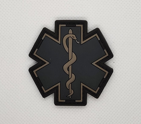 "2"" x 2"" EMS Patch- Black/Gray"