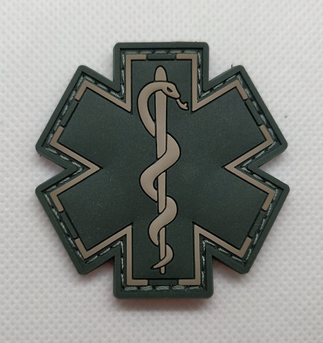 "2"" x 2"" EMS Patch Green/Black"