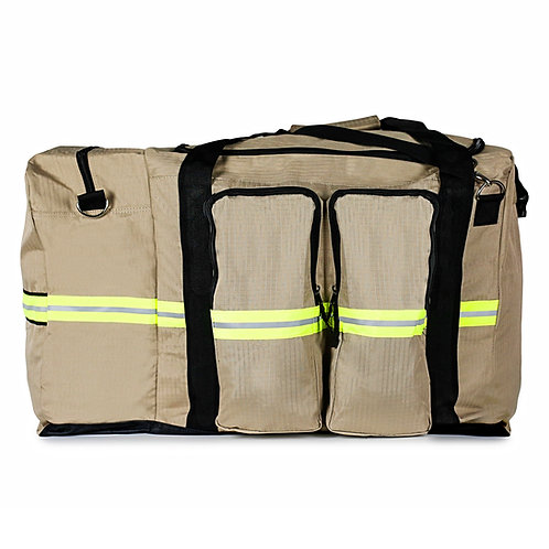 Turnout Gear Bag w/ Detachable SCBA bag, Tan