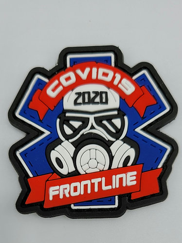 "2""x2"" COVID-19 2020 FRONTLINE Patch"