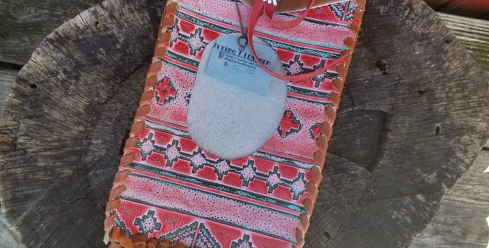 Aztec & Brown Spotted Wipes Case