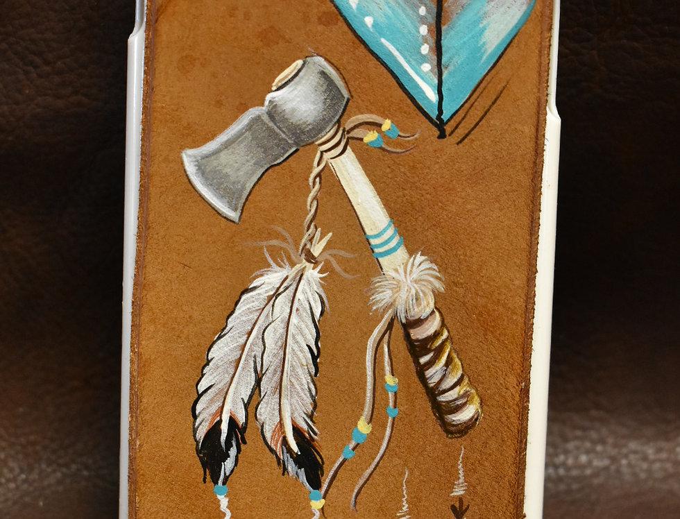 Warrior Native Feather IPhone 6plus Case
